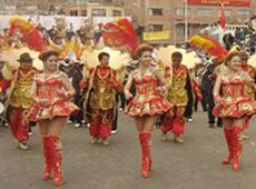 Entra en escenario el II Festival de la Morenada