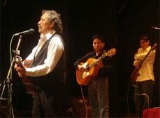 Luis Rico le cantará a los hombres y mujeres de La Paz